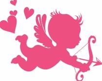 Cupido, el protagonista de las tarjetas de San Valentín