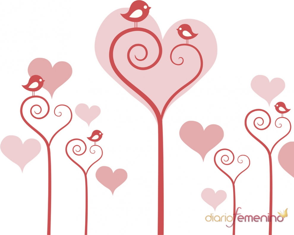 Magnífico Fotos De Color De San Valentín Motivo - Dibujos Para ...