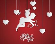 Cupido no puede faltar en las felicitaciones de San Valentín