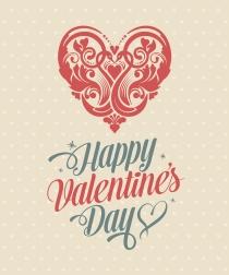 Un Feliz San Valentín se consigue enviando una bonita tarjeta