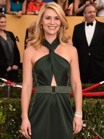 Claire Danes, con un precioso vestido verde en los SAG Awards 2015