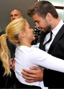 Shakira y Piqué, siempre felices y cariñosos