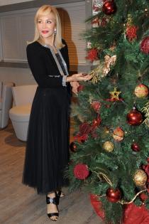 Carmen Lomana y sus looks elegantes para Navidad