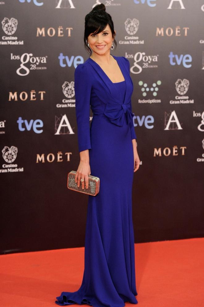 Marian Álvarez, estupenda de azul Klein - Vestidos azul klein: la ...