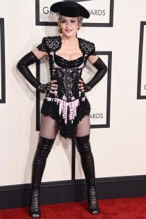 Grammys 2015: Madonna y su inspiración torera