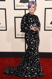 Grammys 2015: Kelly Osbourne, vestida de Christian Siriano