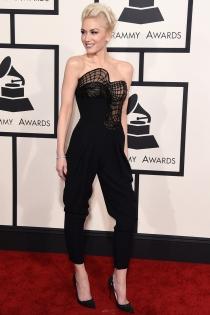 Gwen Stefani, de Atelier Versace en los Grammys 2015