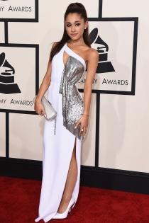 Grammys 2015: Versace también viste a Ariana Grande