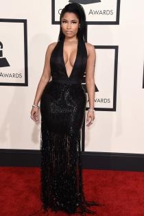 Nicki Minaj, sensualidad en los Grammys 2015