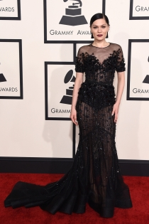 Jesse J, guapa en los Grammys 2015