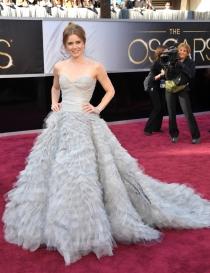Amy Adams confió en Oscar de la Renta para la red carpet