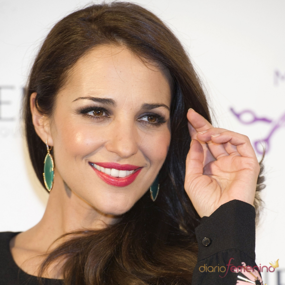 Paula Echevarría da importancia a sus labios en maquillaje