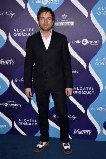 Ewan McGregor, algo desaliñado
