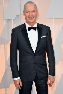 Oscars 2015: Michael Keaton, el más sonriente