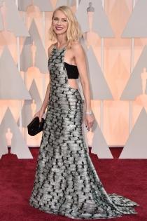 Oscars 2015: Naomi Watts, original y radiante