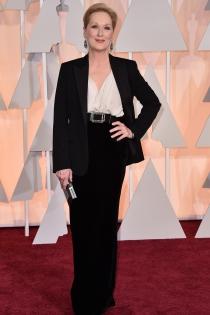 Oscars 2015: Meryl Streep siempre elegante