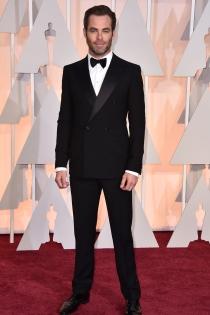 Oscars 2015: Chris Pine, hecho un pincel