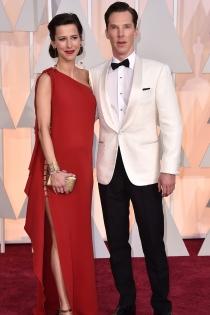 Oscars 2015: Benedict Cumberbatch elegante y sofisticado