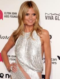 Oscars 2015: Heidi Klum brilla en la fiesta de Elton John