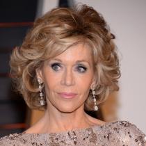 Jane Fonda, estilo y clase tras los Oscars 2015