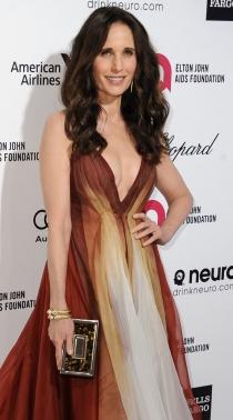 Oscars 2015: Andie McDowell, belleza y estilo