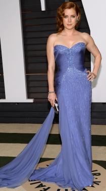 Oscars 2015: Amy Adams, en la fiesta Vanity Fair