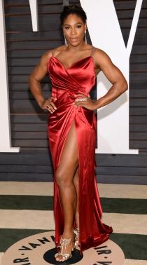 Serena Williams, imponente tras los Oscars 2015