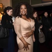 Oprah Winfrey, en la fiesta del Gobernador tras los Oscars 2015