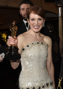 Julianne Moore, flamante ganadora tras los Oscars 2015