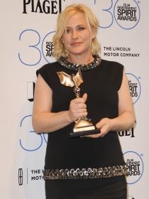 Patricia Arquette, también galardonada en los Independent Spirit Awards