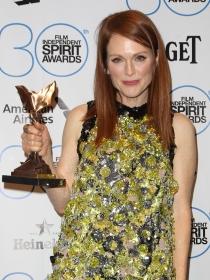 Julianne Moore también ganó uno de los premios de los Independent Spirit Awards