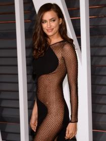 Irina Shayk, de las más sexys de los Oscars 2015