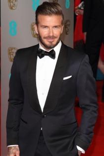 David Beckham, padre estrella