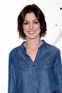 Anne Hathaway, fresca y natural
