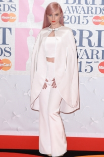Brit Awards 2015: Grace Chatto total White