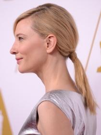 Cate Blanchett, estilo y coleta de alfombra roja