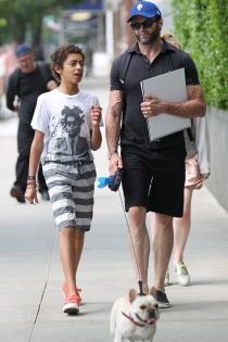 Hugh Jackman, todo por sus hijos