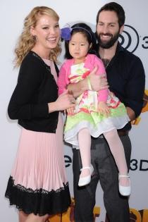 Katherine Heigl y Josh Kelley, no sin su hija