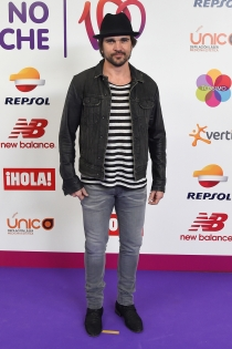 La noche de Cadena 100: Juanes, con rayas y a lo loco