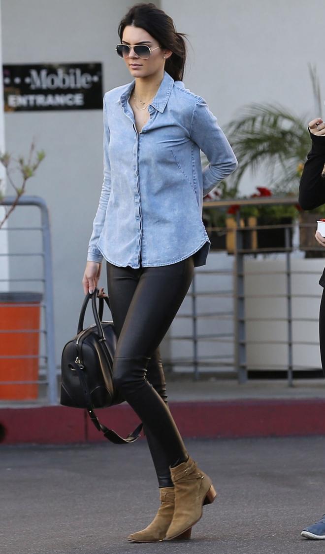 Kendall Jenner y sus looks casual para el día a día