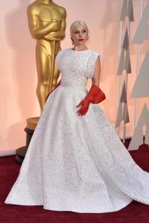 Lady Gaga, una diva en los Oscars