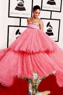 Miley Cyrus cuestiona el estilo de Rihanna