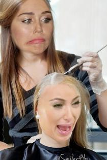 Miley Cyrus, obsesión por Kim Kardashian