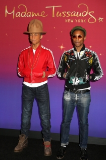 Pharrell Williams, un doble de cera