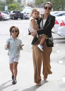 Kourtney Kardashian, una feliz mamá