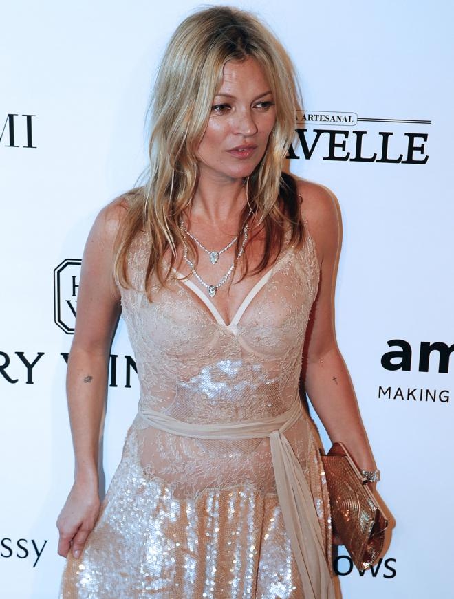 Kate Moss, en la gala amfAR