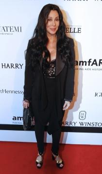 Cher no se perdió la gala amfAR