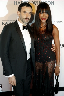 Riccardo Tisci y Naomi Campbell, moda y diseño