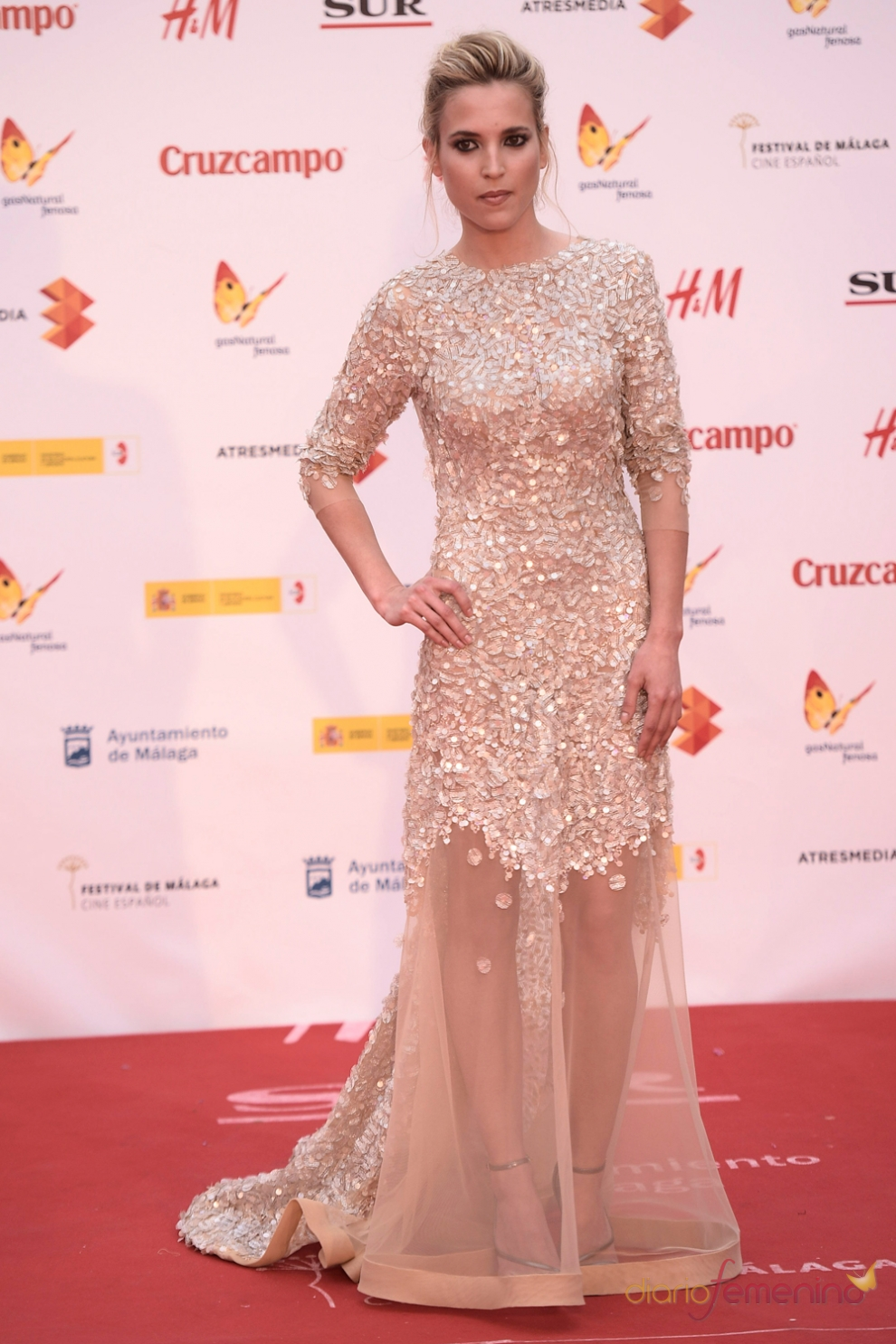 Festival de Cine de Málaga 2015: Ana Fernández, muy elegante