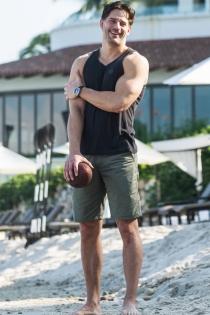 Joe Manganiello, amante del deporte